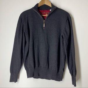Orvis Women's Quarter Zip Wool Sweater